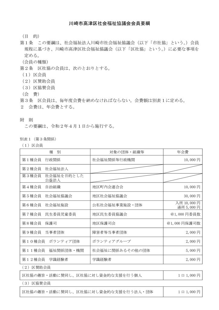 区社協会員要綱 高津区社協2.4.1のサムネイル